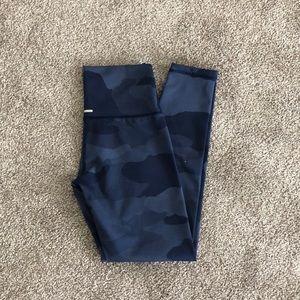 Aerie Move Blue camo texture 7/8 legging